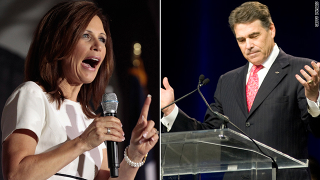 How much does it worry you if both Michele Bachmann and Rick Perry have ties to Dominionism?
