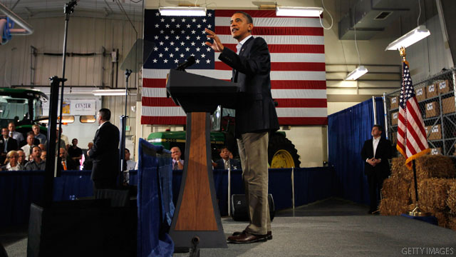 Obama hits optimistic note at end of Midwest swing
