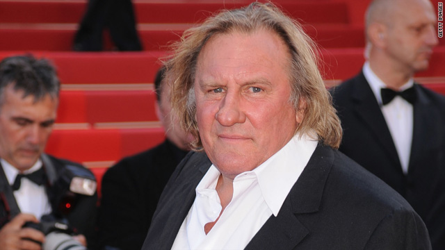 Gerard Depardieu publicly pees on a plane