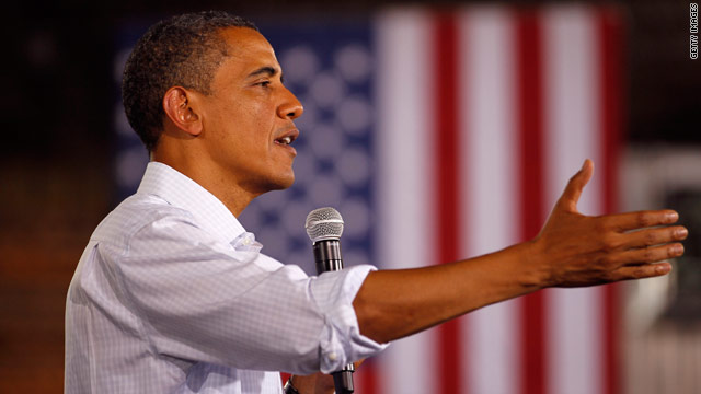 Poll: New low for Obama in state he won big in '08