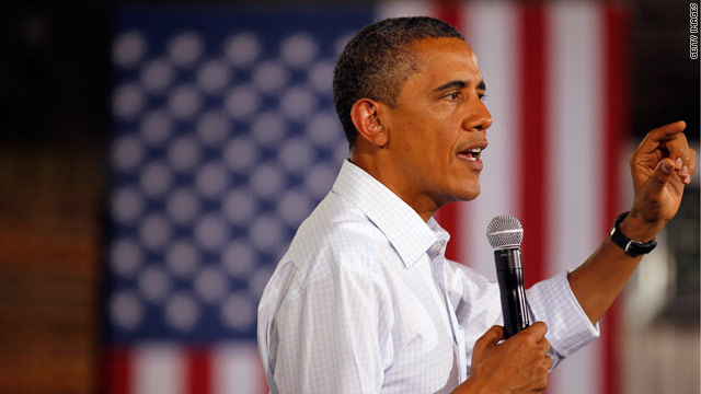 President Obama listens to farmers in rural Illinois