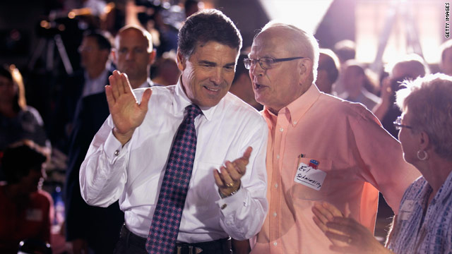 Perry to return for votes and money in South Carolina