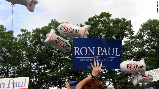 Texas Rep. Ron Paul brings in over $5 million in 3rd quarter