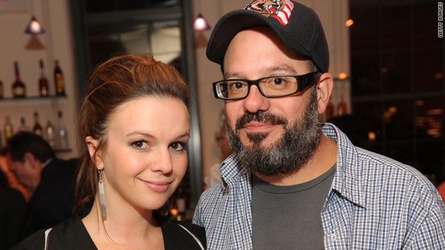 Amber Tamblyn and David Cross engaged
