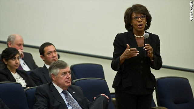 Waters: Some black lawmakers are hesitant to criticize Obama