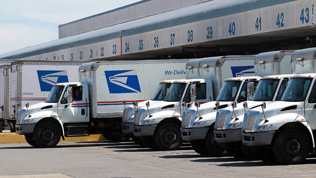 Is benefits law dragging down the Postal Service?