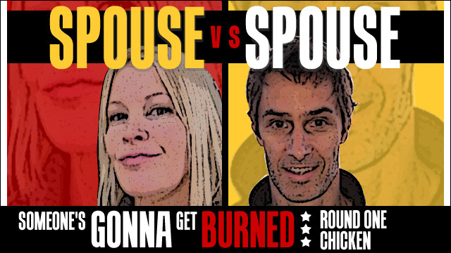 Spouse vs Spouse: a chicken kerfuffle