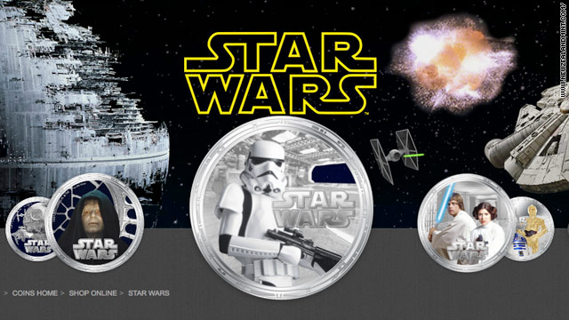 'Star Wars' coins will be legal tender on South Pacific Island