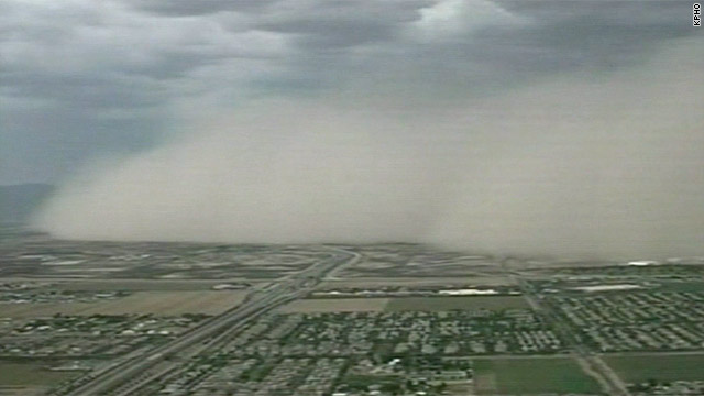 Dust cloud covers Phoenix for third time this summer