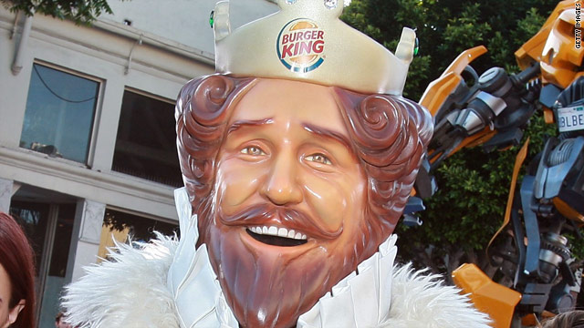 Anarchy in the BK: Burger King mascot dethroned