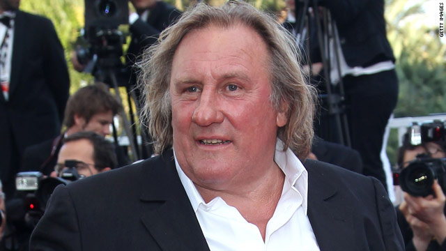 Gerard Depardieu sorry for peeing on plane