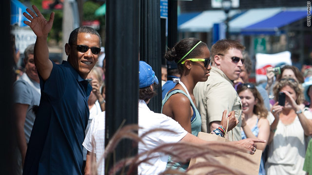 Obama slammed for vacation, but that's nothing new