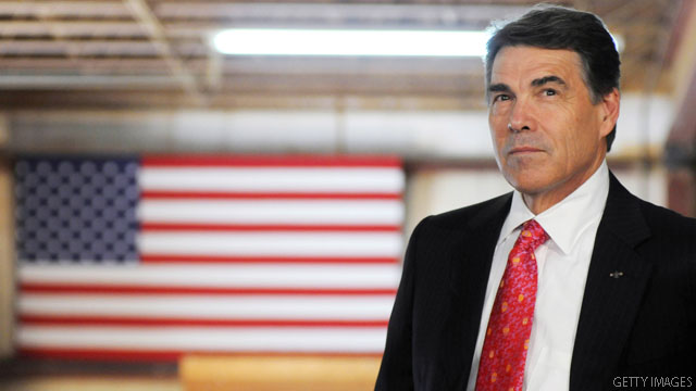 Perry: Romney recognizes his 'huge' problem