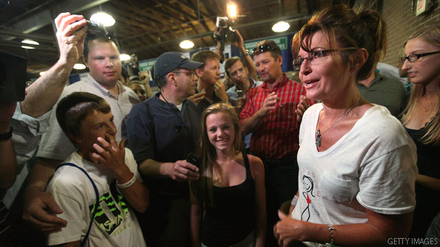 Surprising words of praise by Palin