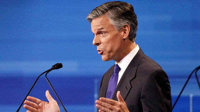 Perry&#039;s global warming position hurts GOP, Huntsman says