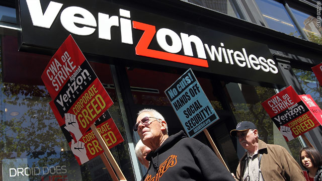 Verizon workers will end strike