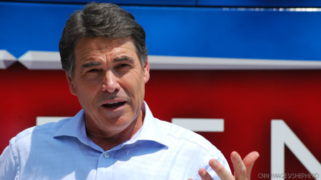 Perry not ready to praise Obama's handling of Hurricane Irene