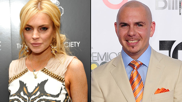 Lindsay Lohan sues Pitbull over hit song
