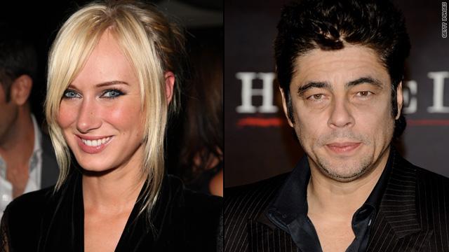 Kimberly Stewart, Benicio Del Toro welcome baby
