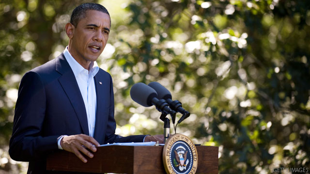 Obama takes jobs bill push to North Carolina