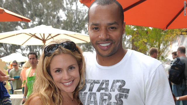 Donald Faison, Cacee Cobb engaged