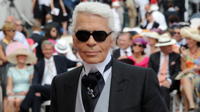Karl Lagerfeld: It's hard to have ugly kids