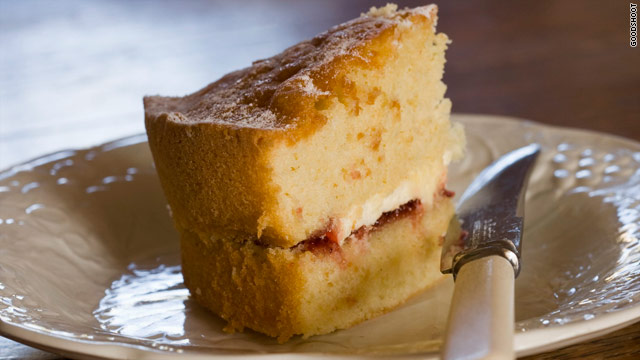 Breakfast buffet: National sponge cake day