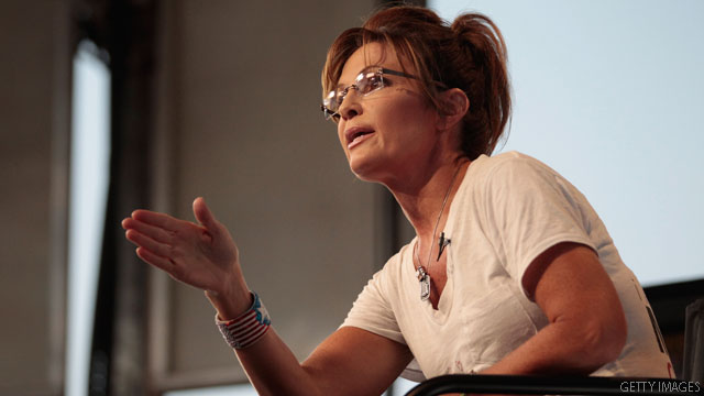 Palin blasts 2012 speculation but applauds...