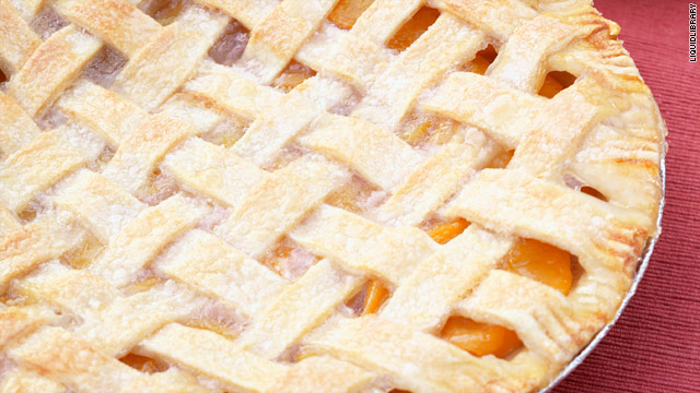Breakfast buffet: National peach pie day