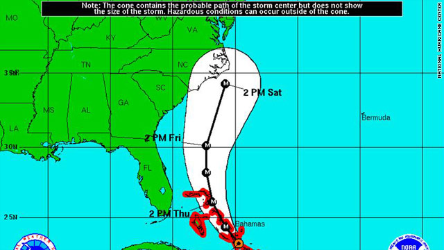 How forecasters develop hurricanes' 'cone of uncertainty'