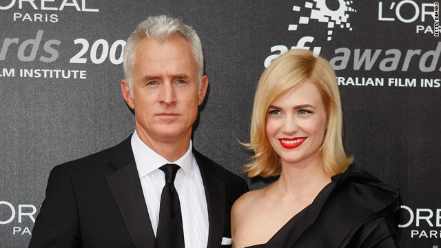 John Slattery defends 'Mad Men' co-star