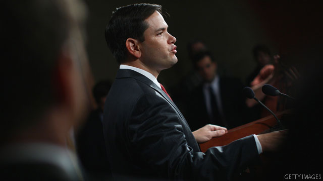 Rubio not running for VP, pivots spotlight to Reagan legacy