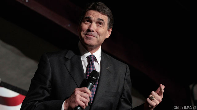 Poll: Perry receives top spot