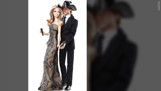Faith Hill and Tim McGraw: The Barbie dolls