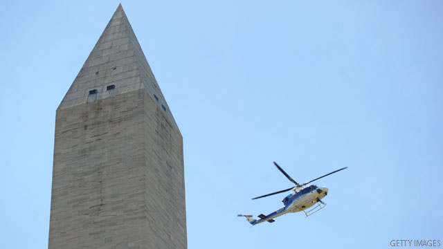 Engineers checking Washington Monument after rare earthquake