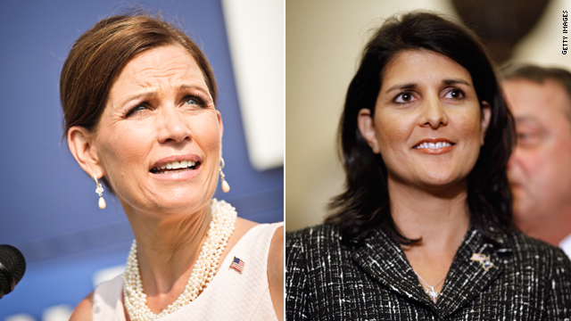 Gov. Haley's Q to Bachmann as 'undecided voter'