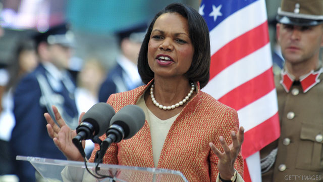Romney congratulates Condoleezza Rice on Augusta membership