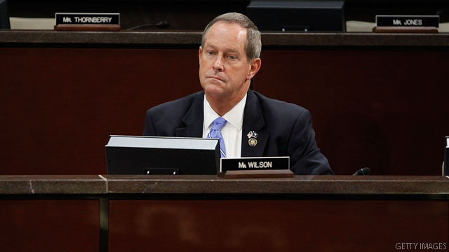 South Carolina congressman hospitalized with fever