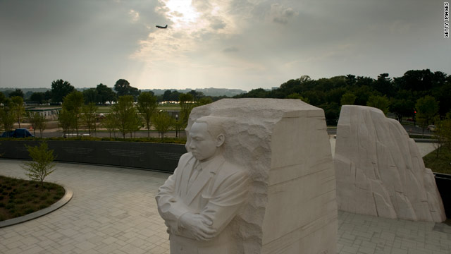 Dedication of King memorial postponed due to Irene