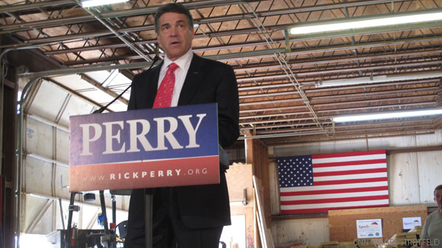 Perry to return to New Hampshire, builds ground game