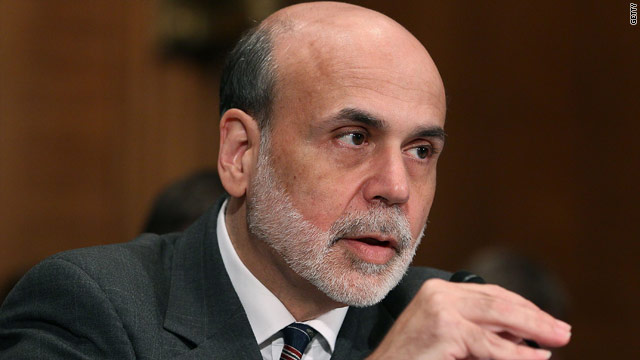 Bernanke pledges Fed support, but notes limits