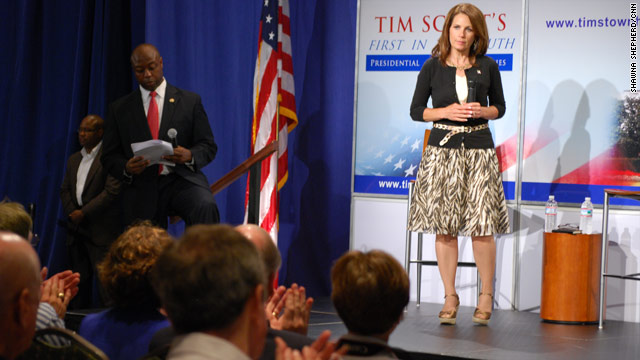 Bachmann&#039;s warning to South Carolina voters