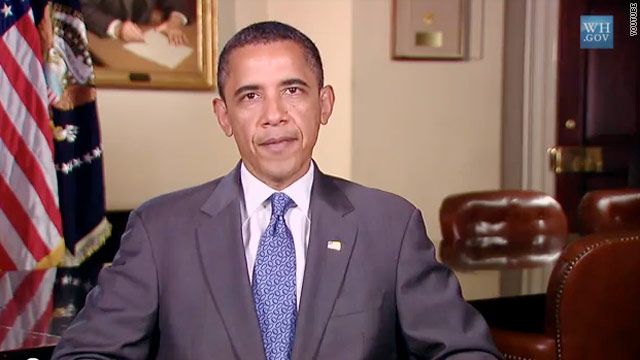 Obama promotes service on 9/11 in weekly address