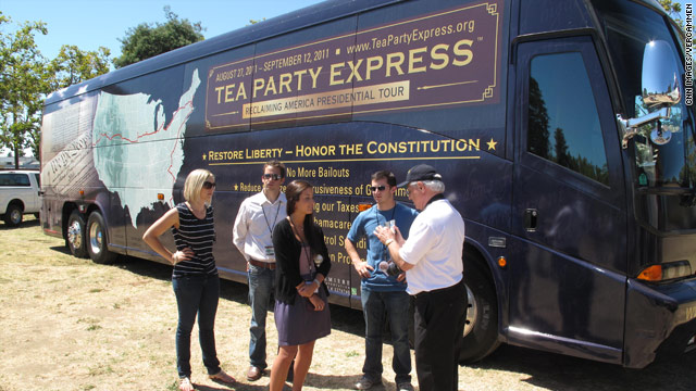 Tea Party Express kicks off nationwide tour in Napa