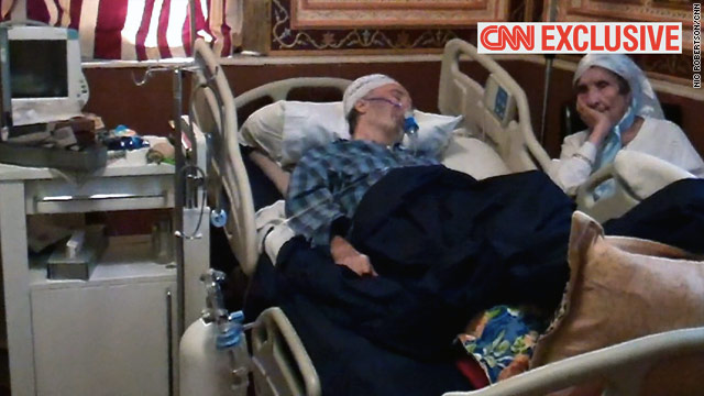 CNN Exclusive: Lockerbie bomber comatose, near death, family says