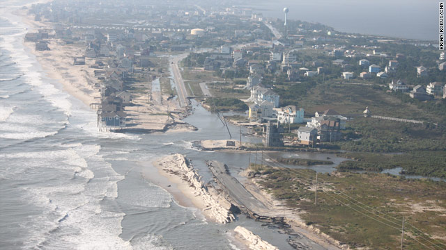 Irene Hammers North Carolina Stranding Thousands On One