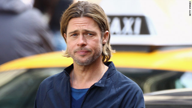 Brad Pitt rescues 'World War Z' extra