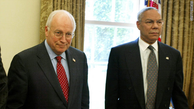 BLITZERS BLOG: No love lost between Cheney and Powell
