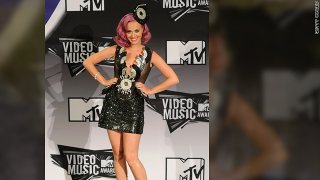 Celebs make up for Gaga's tame VMA look with eccentric outfits