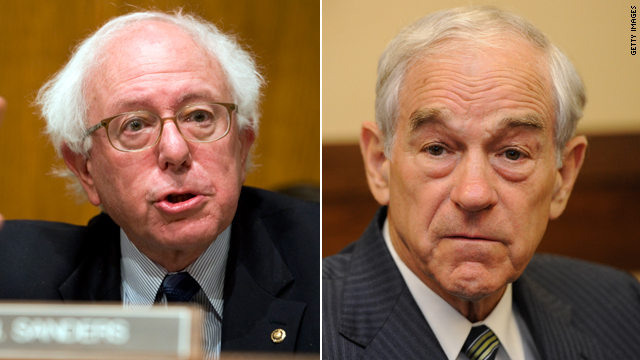 Bernie Sanders on Ron Paul: He's 'out to lunch'
